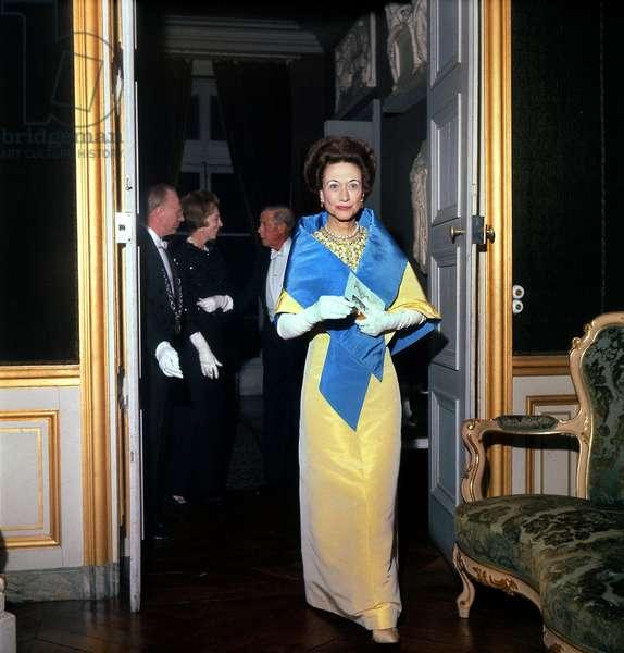Duchess of Windsor and her Husband Edward Duke of Windsor, c. 1965 (photo)