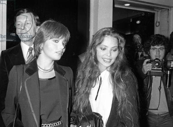 Ornella Muti at the Venetian Ball organized by Karl Lagerfeld, Le Palace, Paris, 26 October 1978  (photo)