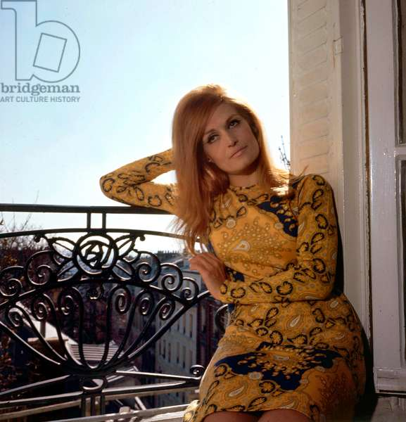 Singer Dalida, c. 1967 (photo)
