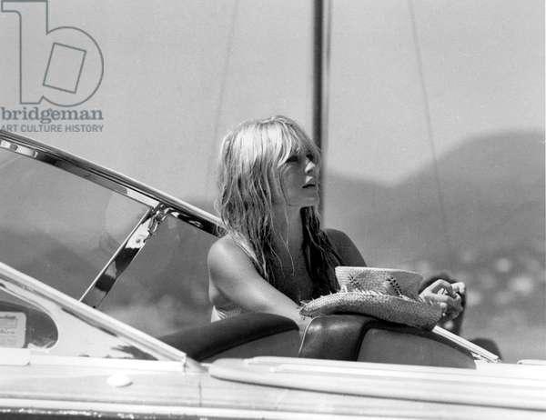 Brigitte Bardot in Saint-Tropez, c. 1965 (photo)