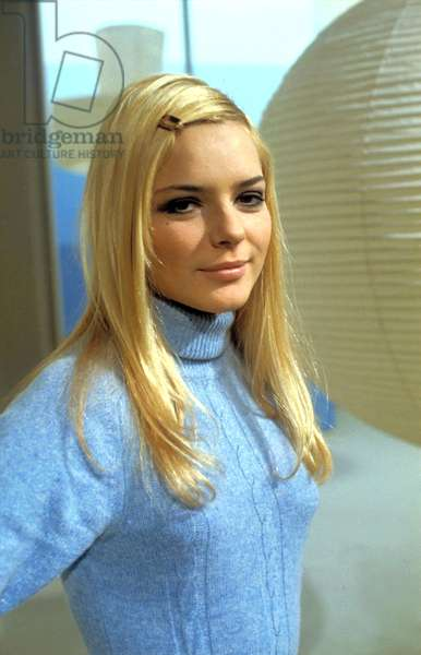 French Singer France Gall, c. 1966 (photo)