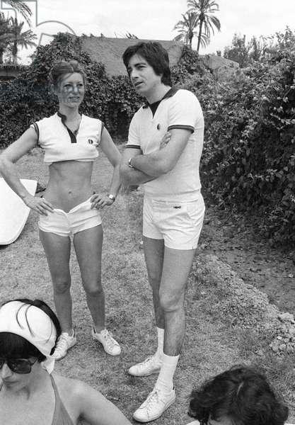 Sheila and Ringo (b/w photo)