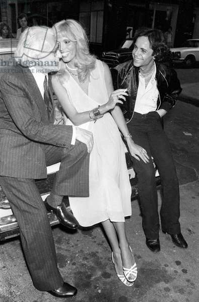 Amanda Lear and her husband Alain Philippe Malagnac d' Argens de Villele, 31 May 1979 (photo)