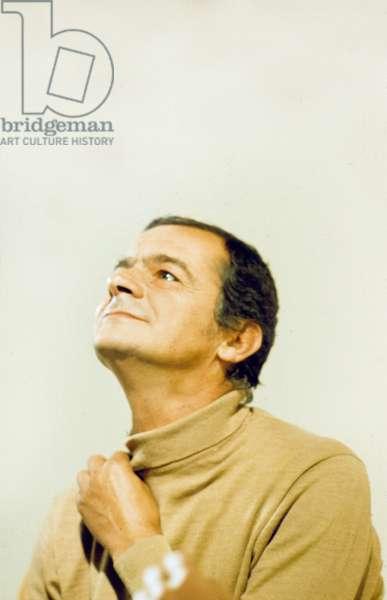 French Singer Serge Reggiani, c. 1976 (photo)