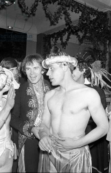 Rudolph Noureev at the Venetian Ball organized by Karl Lagerfeld, Le Palace, Paris, 26 October 1978  (photo)