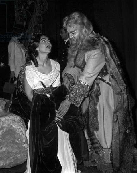 "Maria Callas, Opera ""Tosca"", 29 May 1965 (photo)"