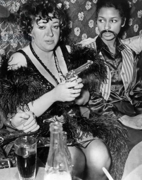 Regine (Regina Zylberberg) at a Texan Night, the New Jimmy's, 4 December, 1967 (photo)