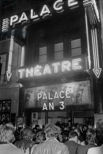 """Party for Third Anniversary of the Nightclub """"Le Palace in Paris"""", Paris, France, April 1981 (photo)"""