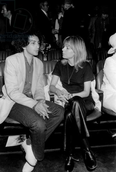 Michel Berger and France Gall at the Premiere of