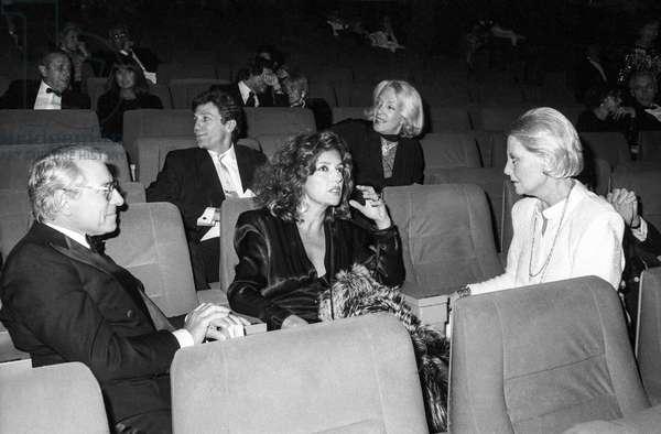 Jean Poiret et Michele Morgan