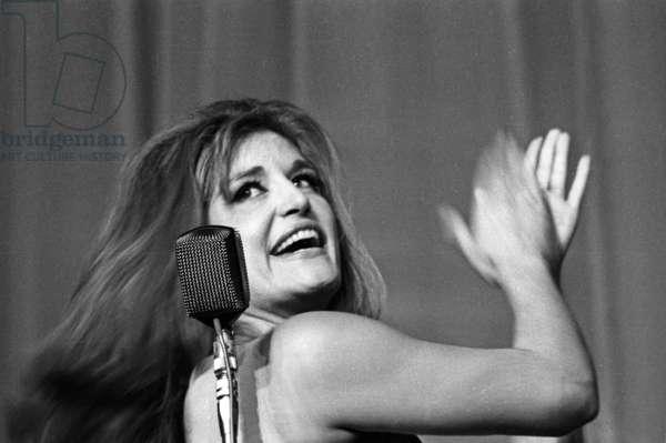 the Premiere of Dalida at Bobino, Paris, 3 February 1965 (photo)