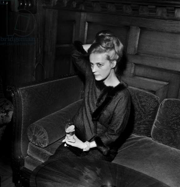 Jeanne Moreau at the presentation of the film