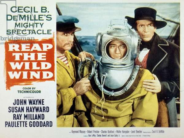 Les naufrageurs des mers sud (reap the wild wind) de CecilBDeMille avec Ray Milland Paulette Goddardet John Wayne 1942