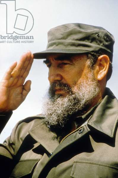 Fidel Alejandro Castro Ruz, Cuban leader born in 1926.