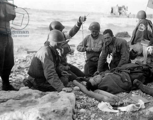 Debarking of Normandy