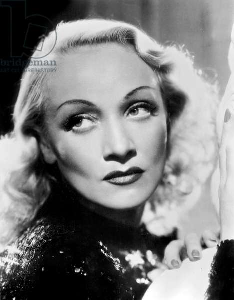 German Actress Marlene Dietrich (1901-1992) in 1948