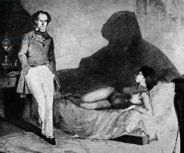 Baudelaire a la negresse (painting)