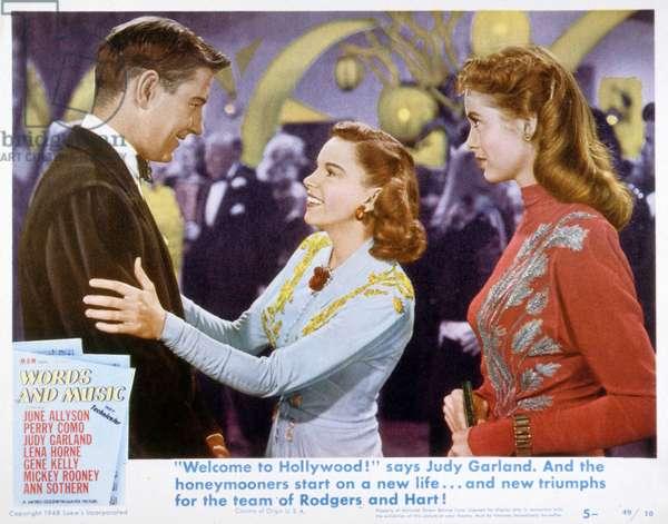 Ma Vie est une Chanson (Words and music) de Norman Taurog avec Judy Garland 1948