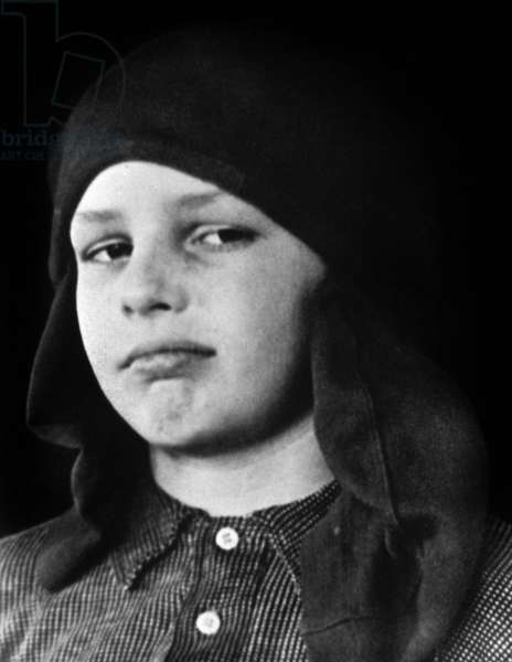 Marlon Brando when child at 8 c.1932