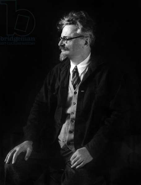 Leo Trotski (1879-1940) soviet politician, c.20's