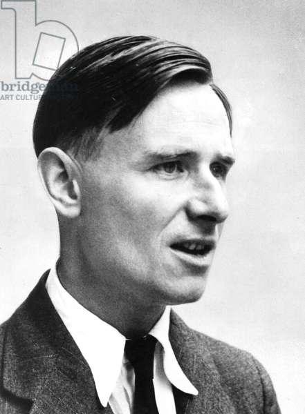 Christopher Isherwood (1904-1986) American writer (English born), here c. 1940