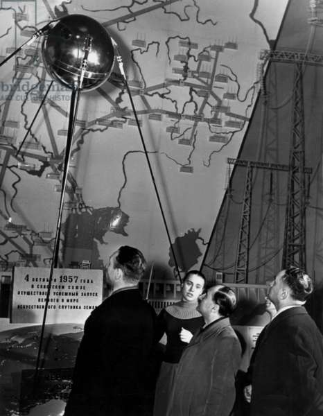 The First Sputnik in 1957