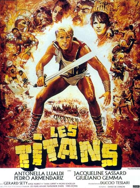 Les titans Arrivano i titani de Duccio Tessari avec Pedro Armendariz 1962
