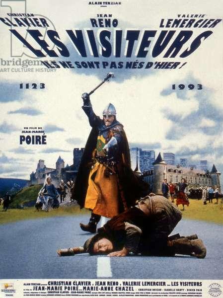 Les visiteurs de Jean-Marie Poire avec Jean Reno et Christian Clavier 1992