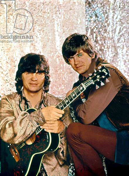 Don and Phil of the Everly Brothers band in 1968