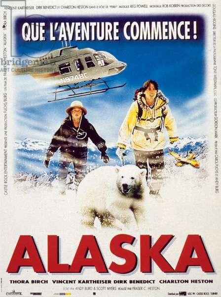 Affiche du film Alaska de FraserClarkeHeston avec Thora Birch et Vincent Kartheiser 1996