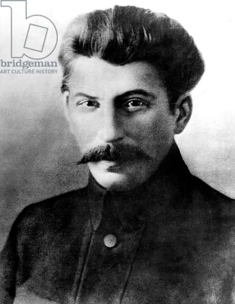 Joseph Stalin (1879-1953) russian politician here in 1917