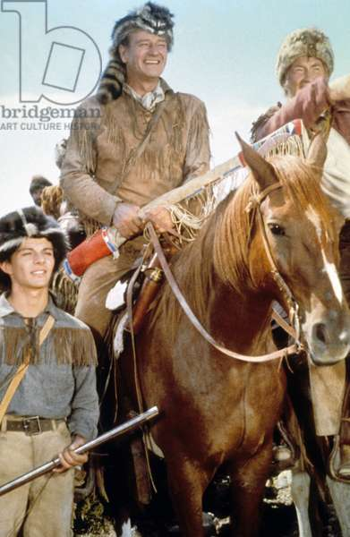 Alamo de JohnWayne avec John Wayne (DavyCrockett) 1960