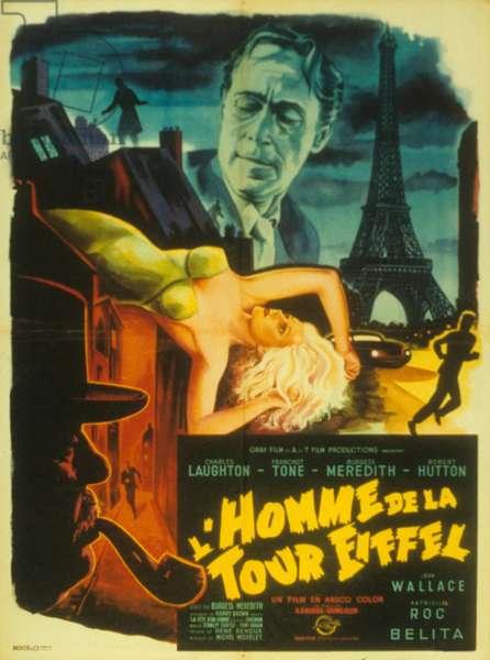 L'homme de la tour eiffel (Man on the Eiffel Tower) de BurgessMeredith et IrvingAllen, 1949