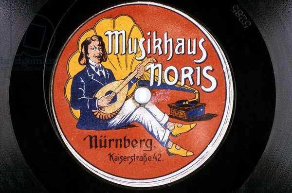 Disque Vinyl Musikhaus Noris Nurnberg Kaiserstrabe 42