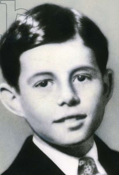 John F. Kennedy as child when 10 years-old 1927