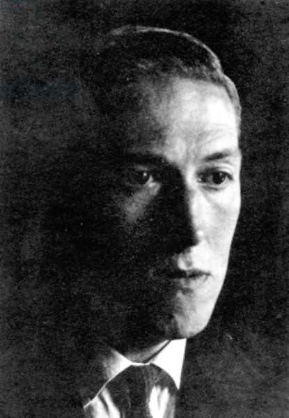 Howard Philips Lovecraft 1890-1937 here in 1934 fantastic recipes