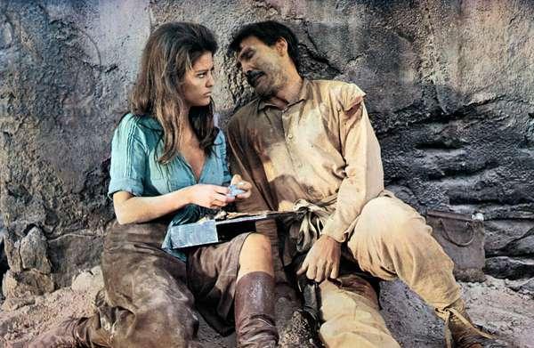 Les Professionnels The Professionals de RichardBrooks avec Claudia Cardinale , Jack Palance 1966