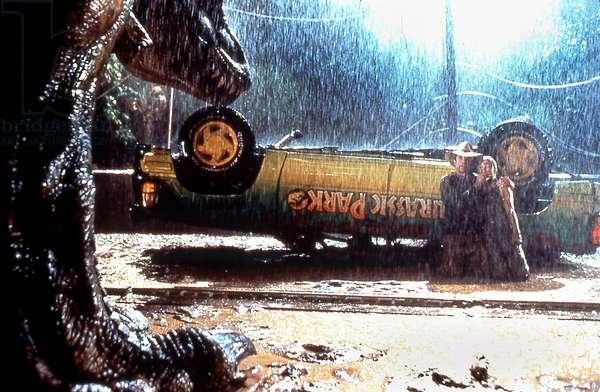 Jurassic Park de StevenSpielberg avec Sam Neill et Ariana Richards 1993 (d'apres MichaelCrichton)