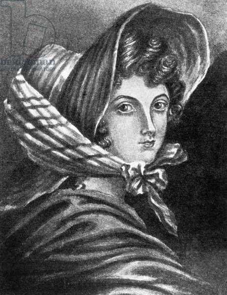 Emily Bronte (engraving)