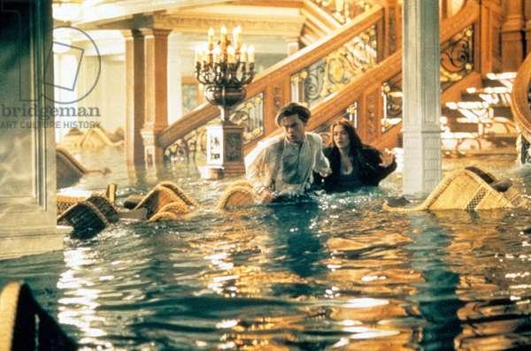Titanic de JamesCameron avec Leonardo DiCaprio, Kate Winslet, 1997