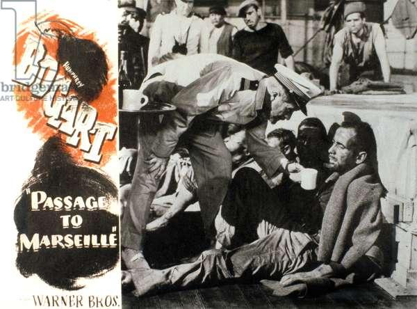 Cap sur Marseilles aka Passage pour Marseille PASSAGE TO MARSEILLES de Michael Curtiz avec Humphrey Bogart, 1944