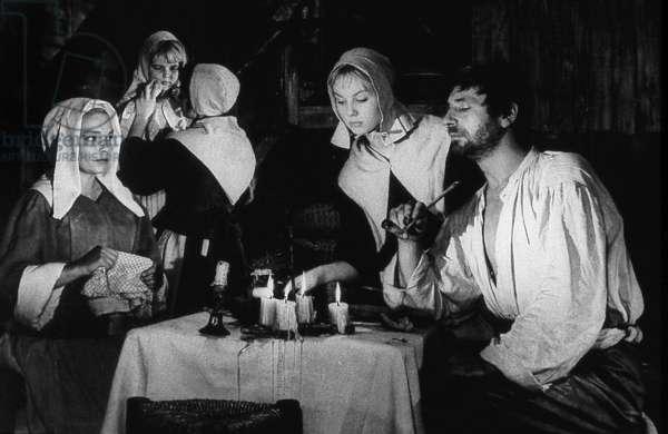 Les sorcieres de Salem The Witches of Salem de RaymondRouleau avec Mylene Demongeot Simone Signoret et Yves Montand 1957