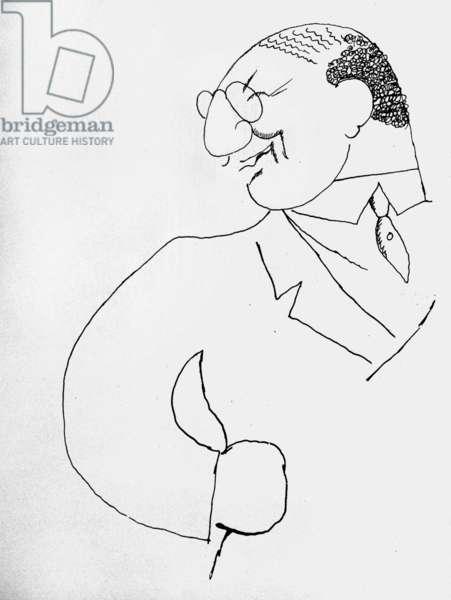 Leon Bakst (ink on paper)
