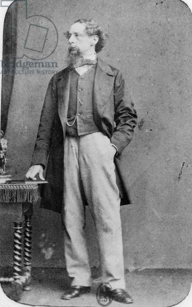 Charles Dickens (1812-1870) English novelist, 1860's