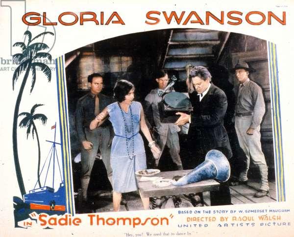 SADIE THOMPSON de Raoul Walsh avec Gloria Swanson, Lionel Barrymore, 1928