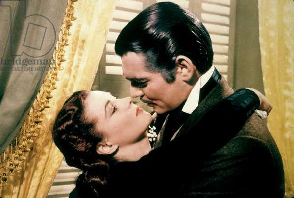 Autant en emporte le Vent GONE WITH THE WIND de VICTORFLEMING avec Clark Gable et Vivien Leigh, (Scarlett O'Hara) 1939