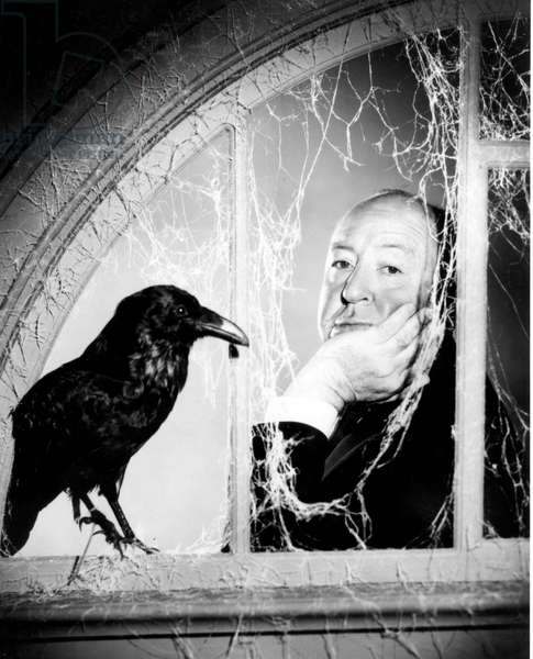 Alfred Hitchcock photo for filmThe Birds 1963