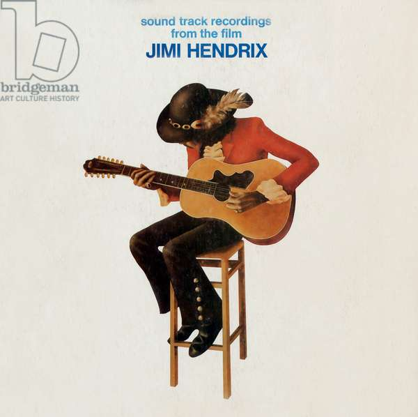 "Record sleeve of album ""Sound track recordings from the film"", Jimi Hendrix, 1973"