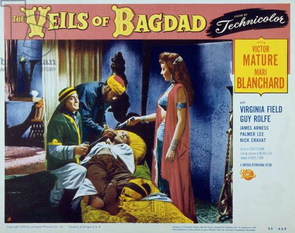 The veils of bagdad de GeorgeSherman avec Victor Mature et Mari Blanchard 1953