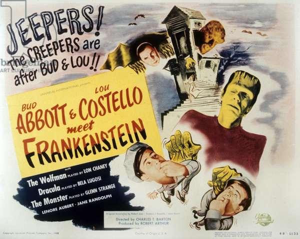 Deux nigauds contre Frankenstein Bud Abbott Lou Costello Meet Frankenstein de CharlesBarton avec Bud Abbott et Lou Costello 1948